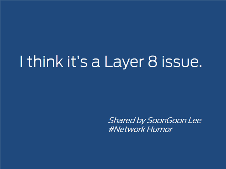 Layer8 issue
