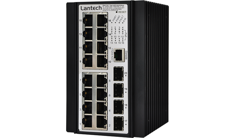 Lantech IPGS-3416DSFPM