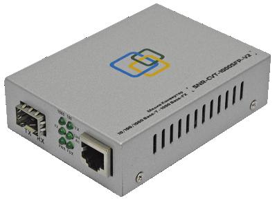 SNR-CVT-1000SFP-POE