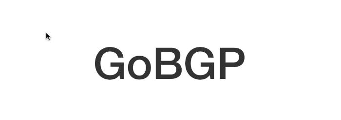 GoBGP