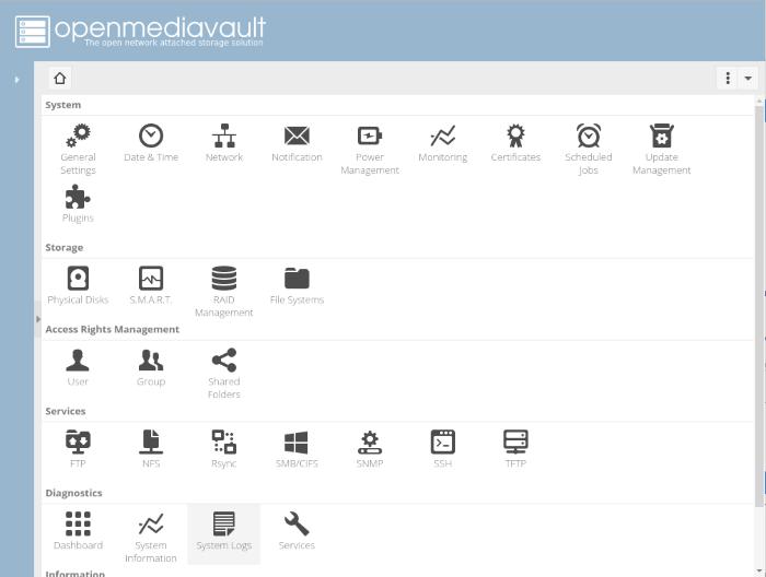 OpenMediaVault 3