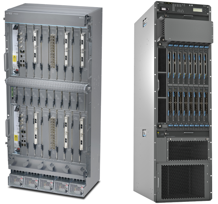 Juniper PTX5000 and PTX3000