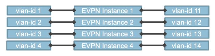 Separate EVPN Instance